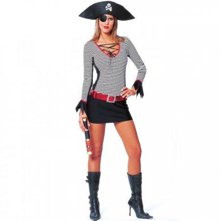 Костюма пиратки для девушки  с фото